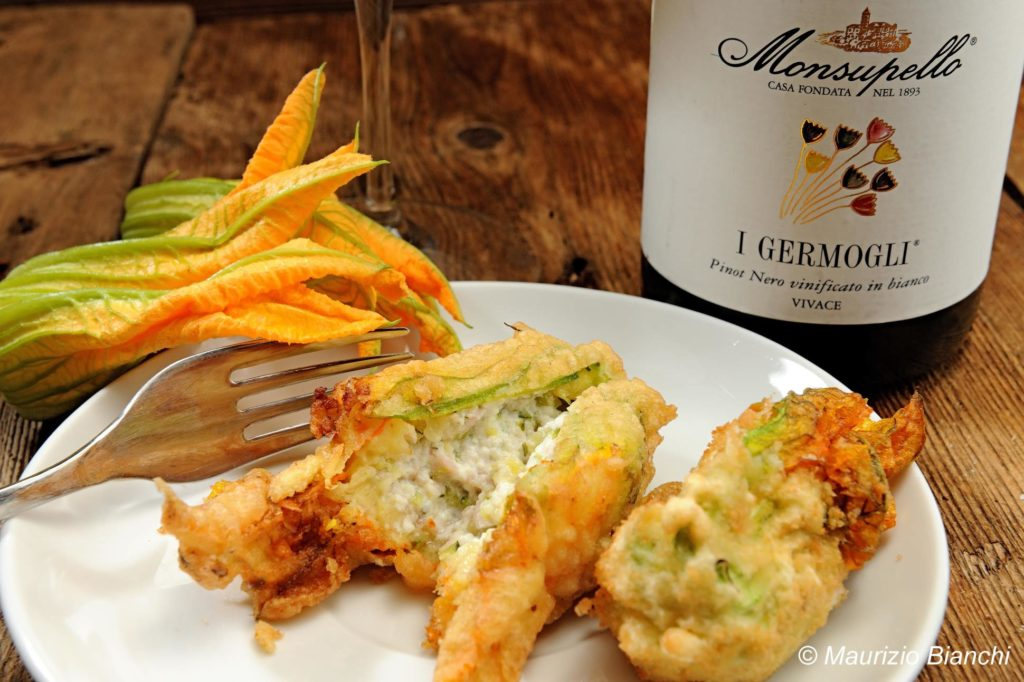Grandma Lilly's Stuffed Courgette Flowers