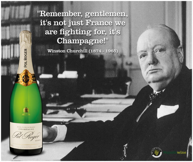 winston churchill, champagne, pol roger, wine princess
