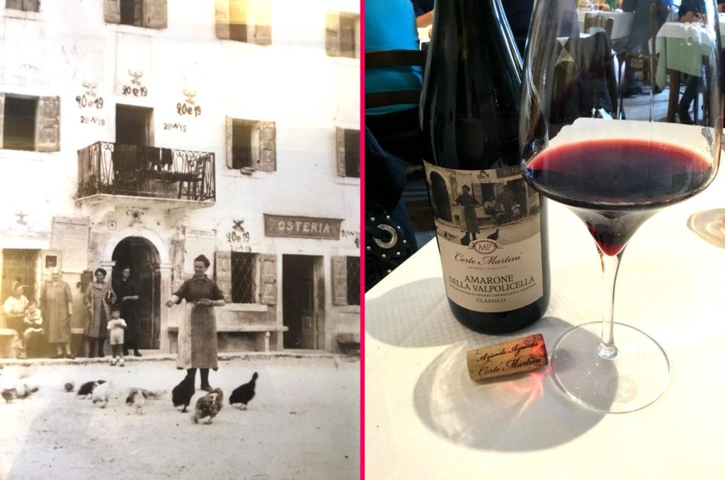 Dalla cantina alla tavola… i vini schietti della Valpolicella!