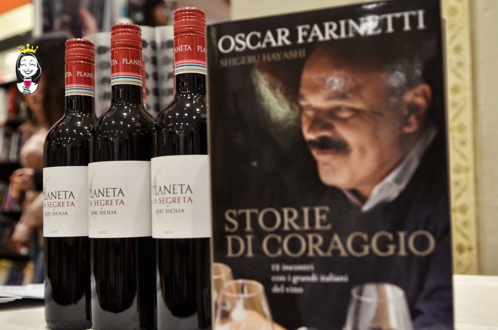 """""""Storie di Coraggio. 12 incontri con i grandi italiani del vino"""" di Oscar Farinetti"""
