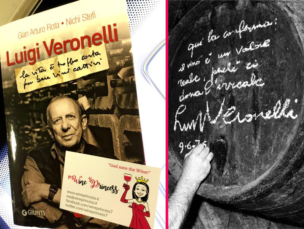 """""""Luigi Veronelli. La vita è troppo corta per bere vini cattivi"""" di G. Arturo Rota e Nichi Stefi"""