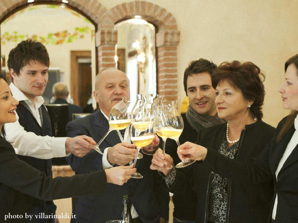 Grandi spumanti alla Maison de Négoce di Villa Rinaldi