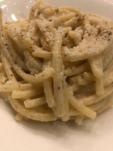 chef antonello colonna, open colonna milano, cucina romana, cacio pepe gricia