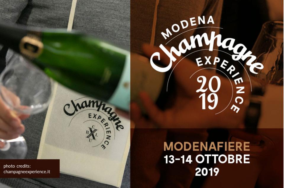 Bollicine da sogno a Modena Champagne Experience
