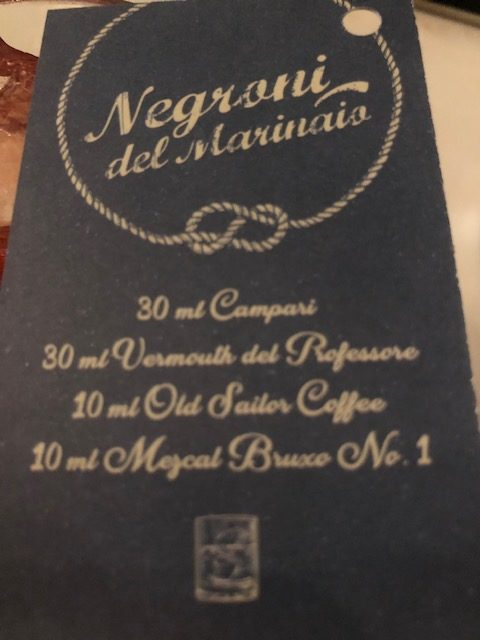 chef antonello colonna, open colonna milano, cucina romana, negroni del marinaio