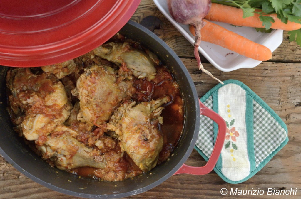 pollo in tecia, ricetta, nonna lilly, vino, sharis, livio felluga